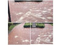 Pressure washing - Driveways Patios Decking Walls Cladding