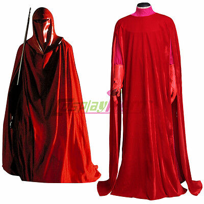 Custom Made Star Wars Royal Guard Red Cosplay Costume Halloween Cosplay Adult