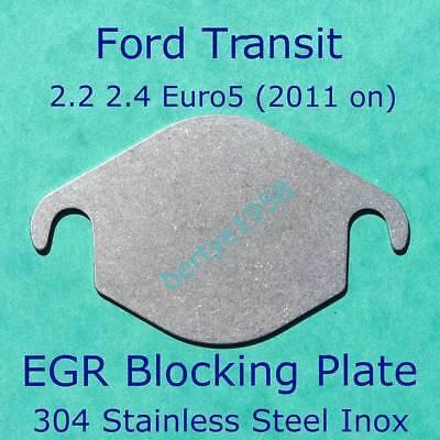 EGR Valve Block Plate Transit, Custom Euro5 & 6 2.2L 2.4 TDCi 2011 on Land Rover