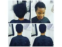 Natural Afro hair and mixed race hair care treatment