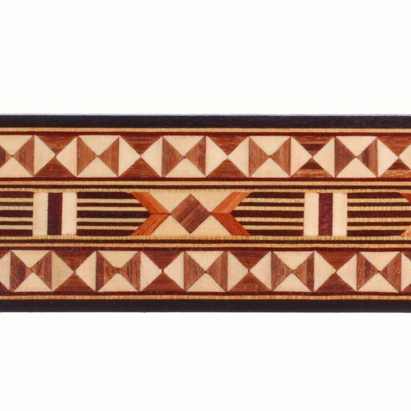 "Wide 1-11/16"" Egyptian Buffard Marquetry Banding (Inlay-114)"