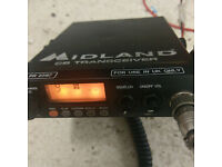 MIDLAND 78 PLUS CB RADIO TRANSCEIVER