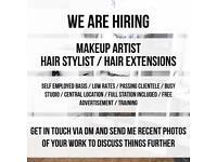 X1 MAKEUP ARTIST X1 HAIR STYLIST SELF EMPLOYED JOB