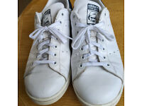 Adidas Stan Smith White Leather Trainers