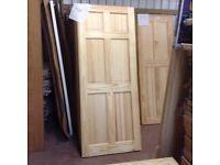 Solid pine interior doors