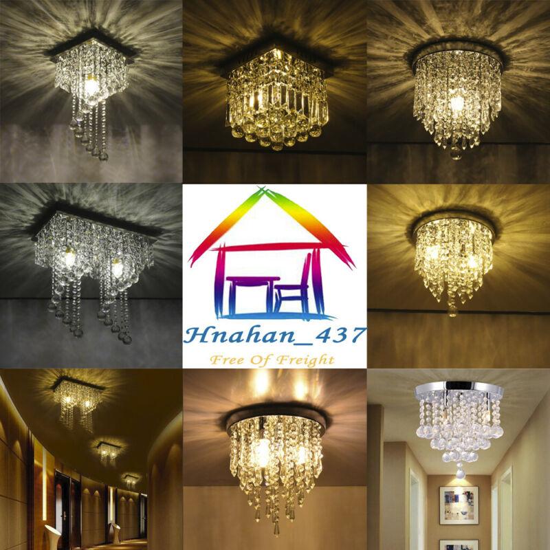 Chandelier Flush Mount Ceiling Light Modern Lighting Fixture
