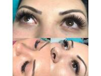 Eyelash extensions (Russian Volume)