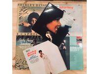 Job Lot of 6 Shirley Bassey Records on Vinyl