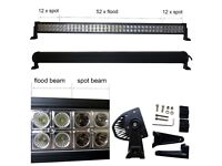 240W CREE LED Light Bar Spot Flood Comb Work Lamp 4x4WD SUV Boat Recovery Pickup Truck Lorry Crane