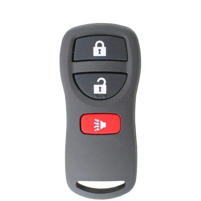 Fits NISSAN 3 Button 315MHz Remote Control Key Xtrail Pathfinder Murano 350Z