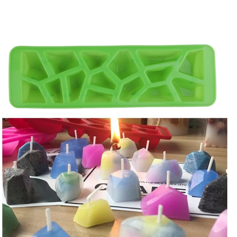 DIY+Silicone+Chocolate+Mould+Candy+Stone+Ice+Mold+Tray+Wedding+Candle+Making