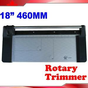 """18"""" 34"""" Manual Sharp Rotary Paper Trimmer Cutter"""