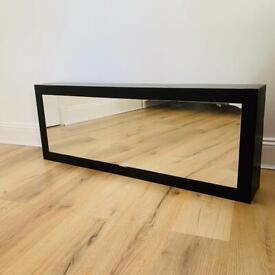 Minimalist Mirror Wall Cabinet Unit Storage Bedroom Living Room Bathroom Italy