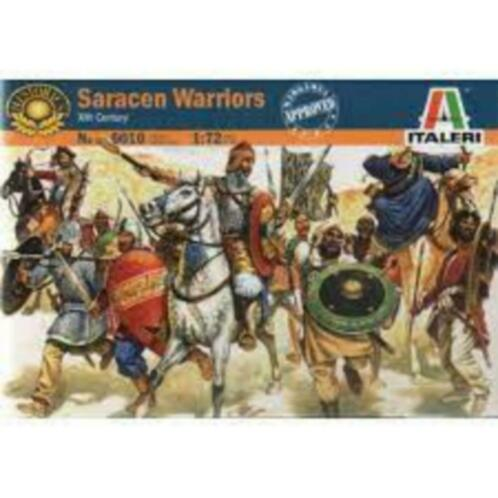 Italeri 6010 saracen warriors echelle 1/72