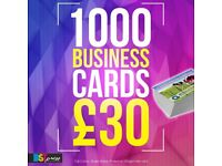 1000 BUSINESS CARDS - £30