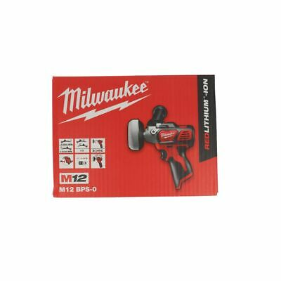 Milwaukee M12 BPS-0 Cordless Sub Compact Polisher Sander Grinder Body Only