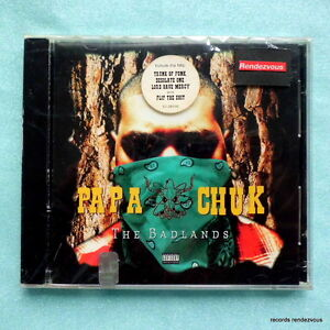 Papa-Chuk-The-Badlands-CD-SEALED-Original-US-1994-Charles-Roberts-Hip-Hop-Rap