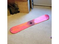 Snowboard, boots and bindings for sale