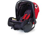 Casatto bizzy Betty car seat and cover