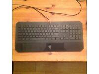 Razor Deathstalker Gaming Keyboard