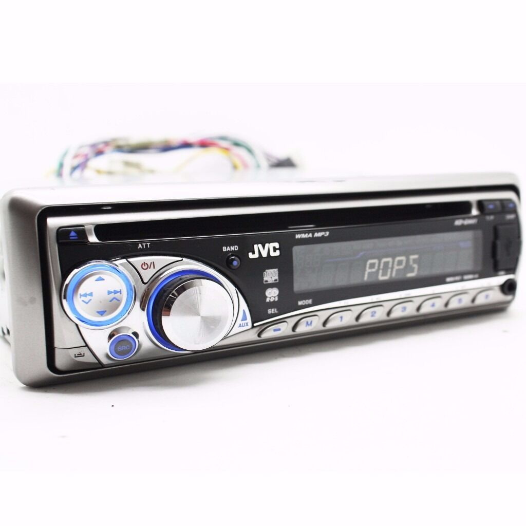 JVC Kd-G441 Car Stereo CD Mp3 Front USB And AUX In Radio