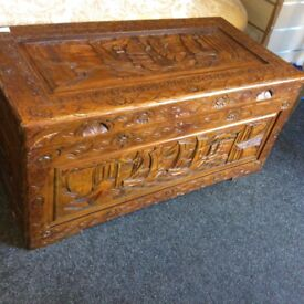 Carved trunk