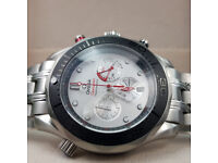 Rossco's Watches. Omega Seamaster Professional. New, Boxed with Paperwork