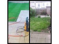 Garden design and Landscaping specialist fencing turfing decking levelling