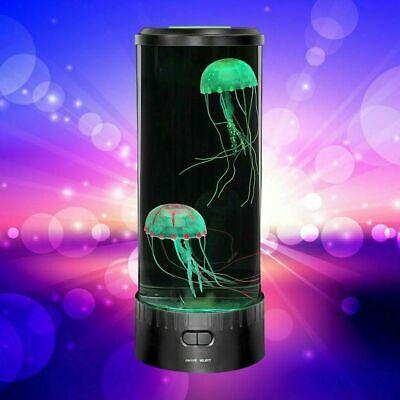 Serbatoio di meduse leggero d'atmosfera rilassante LED Colour Cambio Desk Lamp