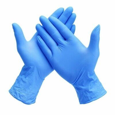 Surgical Blue Nitrile Gloves100pack