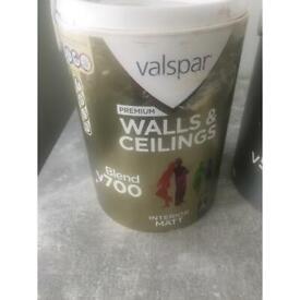 Valspar 5L paint walls and ceiling
