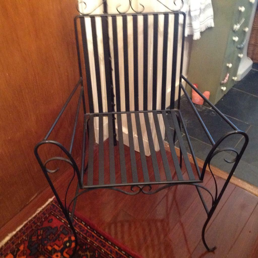 Lovely wrought iron chair