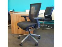 Black Sidiz T50 Operator Chair