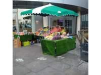 Fruit Stall at Hospital. Apply.