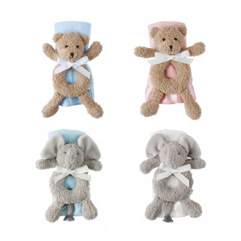 Mud Pie E1 The Kids Shoppe Ring Rattle & Lovey 2pc Set 12110186 Choose Design