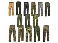 Invader Gear Revenger Tdu Combat Trousers Camo Plain Colours AIRSOFT