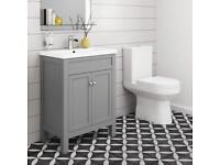 Brand New (Still Boxed) Toilet & Vanity Unit