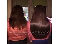 Mobile Hair Extensions - Qualified technician - Natalie Sarah Hair Extensions