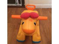 Playskool Go & Grow Giraffe rocker. 2 in 1 chair and rocker.