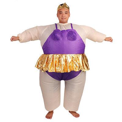 Inflatable Ballerina Fancy Dress Costume Cosplay Fat Suit - Fat Ballerina Kostüm