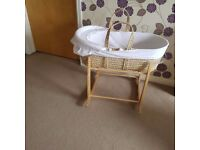 Mosses basket and bather support