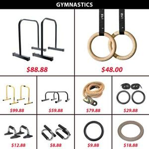 Pull | Climbing | Rope | Wooden | Plastic | Ring | Gym | Gymnastic | Up | Push | Bar | Dip | Equalizers | Lebert