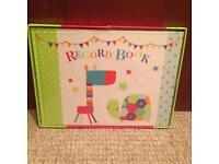 Childrens record book