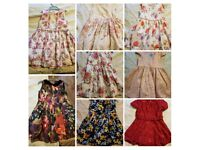 Girls dresses aged 2 to 3 years, excellent condition from pet and smoke free home