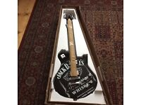 Brand new peavy jack daniels guitar