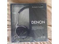DENON Headphones - AH-D510 Black/Silver