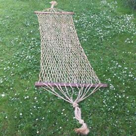 Vintage hammock