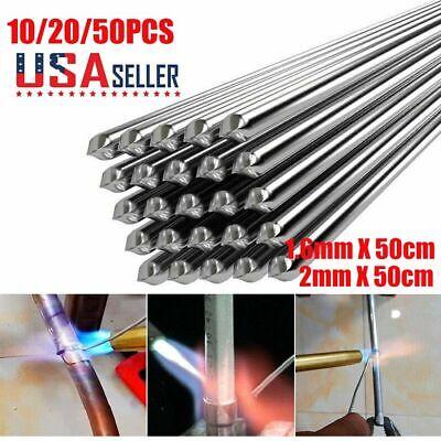 102050pcs Aluminum Solution Welding Flux-cored Rods Wire Brazing Rod 1.62mm