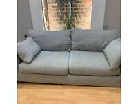 **REDUCED** M&S 3 seater grey sofa