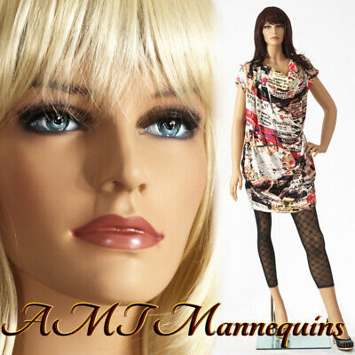 Female Mannequinstandhand Made Painted Skin Full Body Realistic Manikin - Ivy